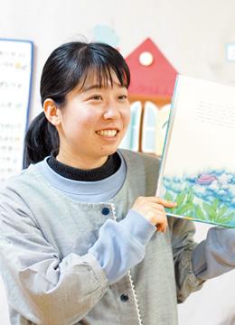 広沢 ともみさん 幼児教育学科 2014年度卒業