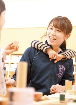 押見 歩子さん 幼児教育学科 2016年度卒業