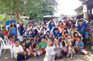 フィリピン研修旅行の様子