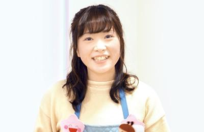 幼児教育学科 2年 小泉 舞華さん